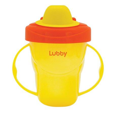 Поильник-непроливайка Lubby от 6 мес+ 175 мл в ассортименте