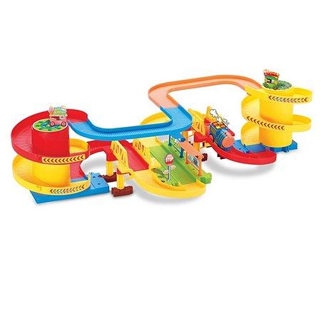 Железнодорожный набор Devik Toys поезд в комплекте