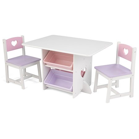 Набор мебели KidKraft Сердце 7предметов 26913_KE