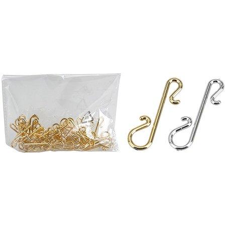 Крючки для елочных игрушек KOOPMAN 50 шт Золото и Серебро