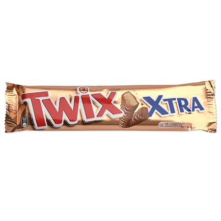 Шоколадный батончик TWIX Xtra 82г РОС