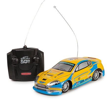Машинка на радиоуправлении Mobicaro Super Drift Neon Жёлтая