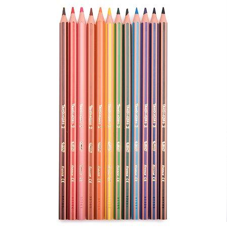 Цветные карандаши BIC Tropicolors 12 цв