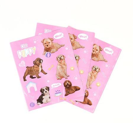 Набор обложек для тетрадей Erhaft Dogs 350*220 3шт DG22028