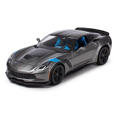 Машинка MAISTO 1:24 Corvette Grand Sport Серая 31516