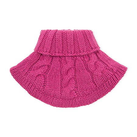 Шарф-манишка Baby Gо ярко-розовый