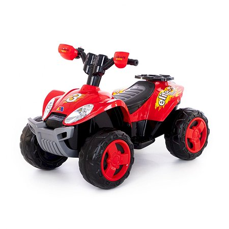 Квадроцикл MOLTO Elite 6V Красный 35905_PLS