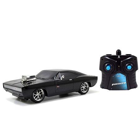 Машина Jada Fast and Furious РУ 1:24 Dodge Charger 1970 Черная 97044