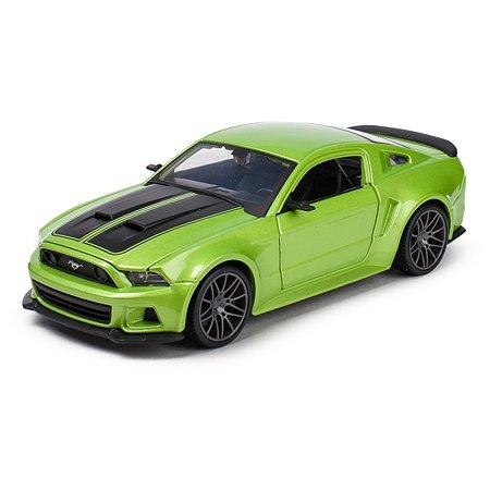 Машинка MAISTO 1:24 Ford Mustang Street Racer Зеленая 31506