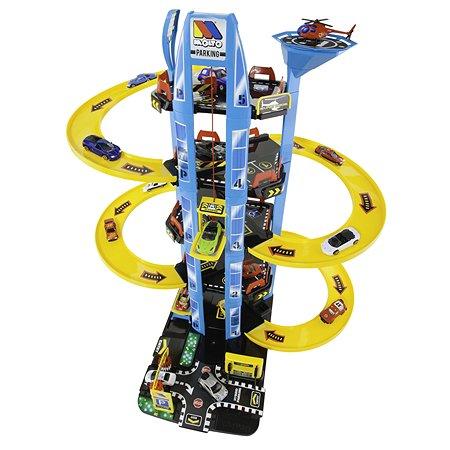 Игрушка MOLTO Парковка 5 уровней с вертолетной площадкой 11411