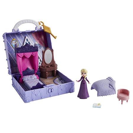 Набор игровой Disney Frozen Холодное Сердце 2 Шкатулка Спальня Эльзы