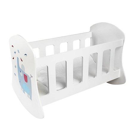 Мебель для кукол PAREMO Люлька Крошка Ви Белый PFD120-09