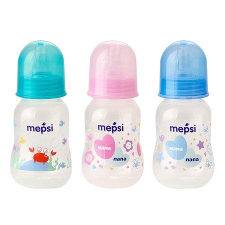 Бутылочка Mepsi 125мл в ассортименте 0200