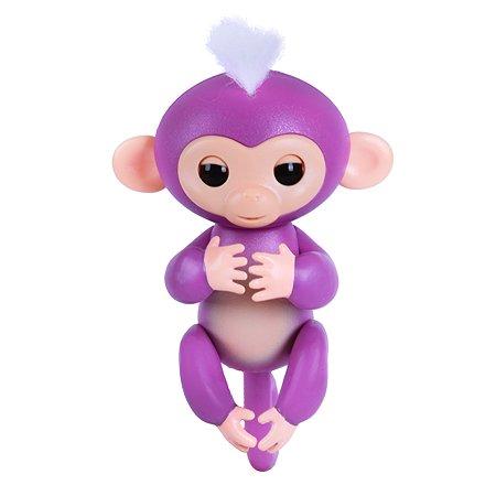 Обезьянка Fingerlings интерактивная Мия Фиолетовая