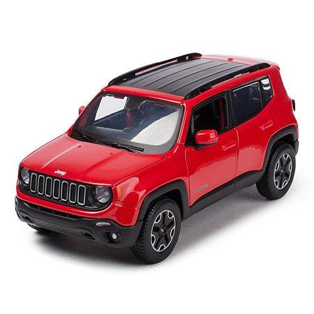 Машинка MAISTO 1:24 Jeep Renegade Красная 31282