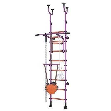 Детский спортивный комплекс Polini kids Sport Active комбинированный Фиолетовый
