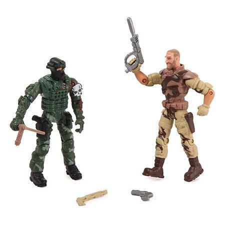 Военный набор Global Bros Герои-4 (2 солдатика+аксессуары)