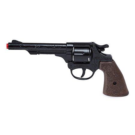 Револьвер ковбоя Gonher 22.5 см Чёрный