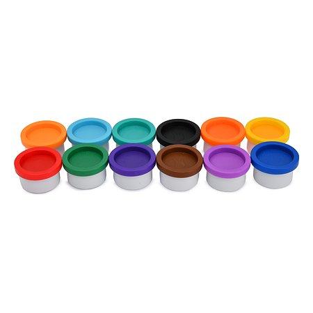 Пальчиковые краски Kribly Boo 12х22 мл