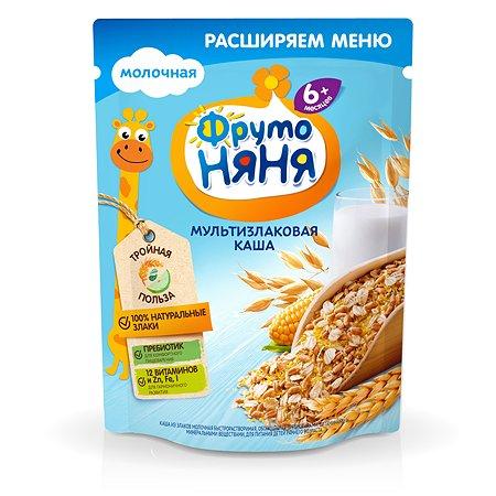Каша ФрутоНяня молочная мультизлаковая 200г с 6 месяцев