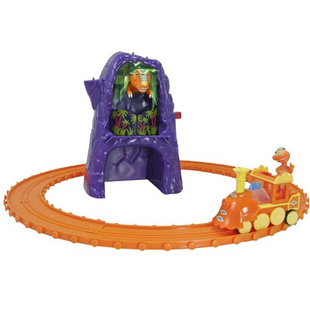 Железная дорога Поезд динозавров с Т-рексом