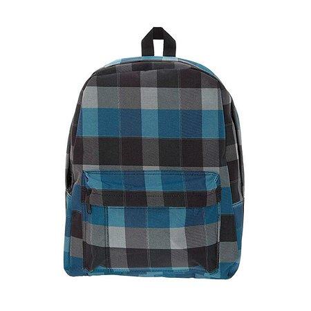 Рюкзак 3D-Bags Клетка (сине-черный)