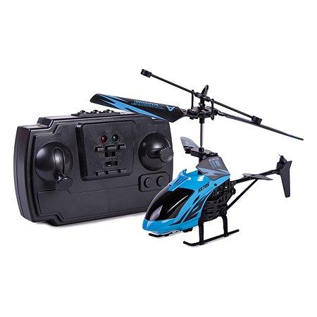 Вертолет на радиоуправлении Mobicaro Неон 2 канала 15 см Синий