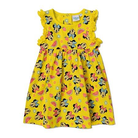 Платье Disney baby жёлтое