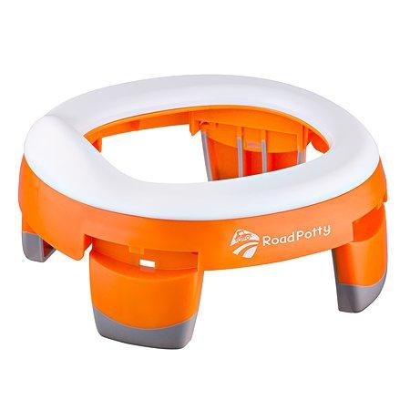 Горшок ROXY-KIDS RoadPotty дорожный Оранжевый HP-245R