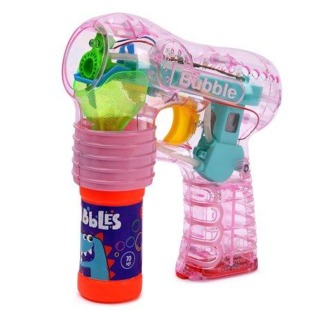 Машинка для пускания мыльных пузырей Attivio +бутылочка 70мл в ассортименте JY006-B