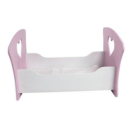 Мебель для кукол PAREMO Люлька Сердце Нежно-розовый PFD120-14