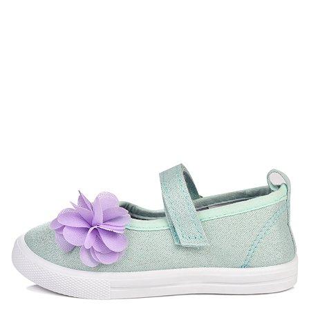 Туфли BabyGo мятные