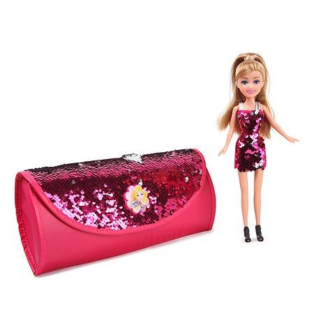 Набор игровой Sparkle Girlz с куклой и сумкой для переноски 24016