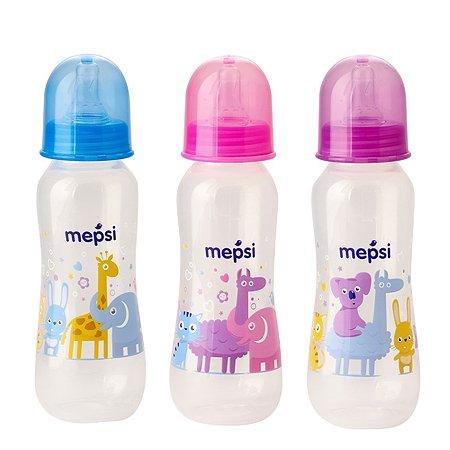 Бутылочка Mepsi 250мл в ассортименте 0201