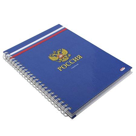 Записная книга Prof Press Российский герб А5 80л 80-8107