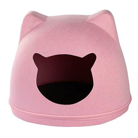Домик для животных Не один дома Сахарная вата Розовый