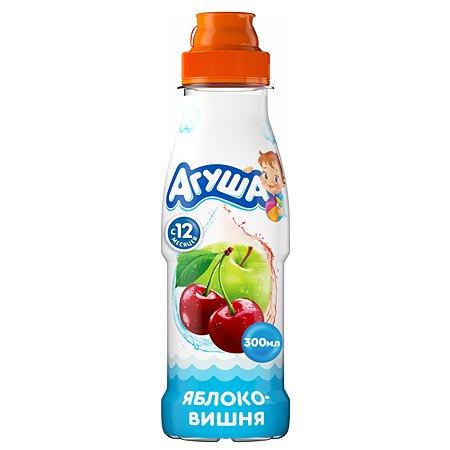 Вода с соком Агуша яблоко-вишня 300мл с 12месяцев