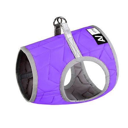 Шлея для собак Airyvest One мягкая XS 4 Фиолетовая