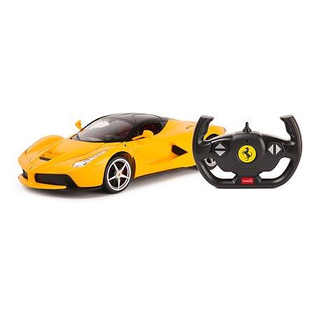 Машина Rastar РУ 1:14 Ferrari USB Желтая 50160