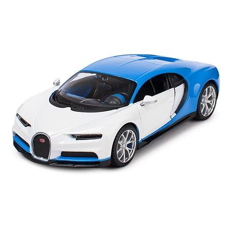 Машинка MAISTO 1:24 Bugatti Chiron Голубая 32509