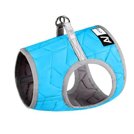 Шлея для собак Airyvest One мягкая S 2 Голубая