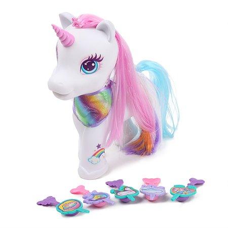 Набор игровой Sparkle Girlz Единорог Покорми меня 31101