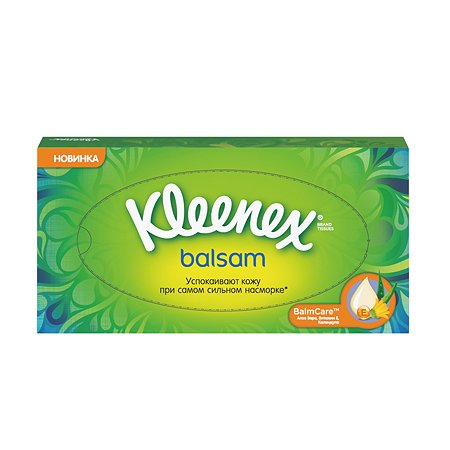 Салфетки Kleenex Бальзам 72шт 3396165