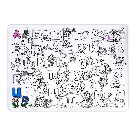 Коврик-раскраска ЯиГрушка Алфавит 59882