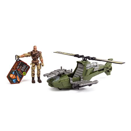 Военный набор Global Bros Быстрая атака Вертолет