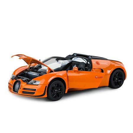Машинка Rastar Bugatti GS Vitesse 1:18 оранжевая