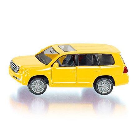 Машина SIKU Тойота Лэндкрузер Желтая