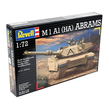 Танк Revell М1 А1 НА Аdrams