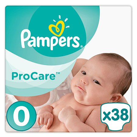 Подгузники Pampers Procare 0 1-2.5кг 38шт
