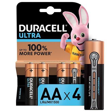 Батарейки Duracell UltraPower AA 4шт 5004805